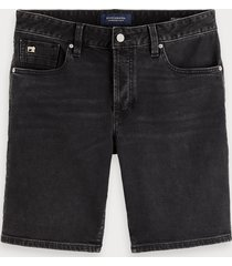 scotch & soda ralston short - blackout | regular slim fit