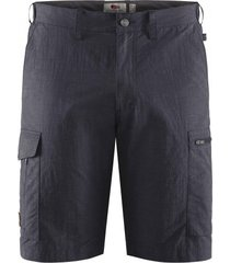 fjällräven korte broek fjällräven men travellers mt shorts dark navy