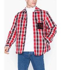 diesel s-johns jacket jackor red