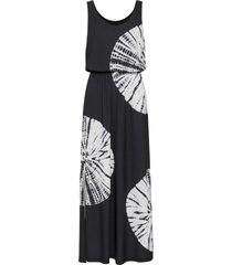 abito lungo batik decorato da strass (nero) - bodyflirt