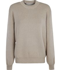 golden goose dany basic lettering sweatshirt