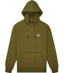 converse embroidered pullover hoodie