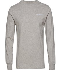 casual long sleeve tee t-shirts long-sleeved grå han kjøbenhavn