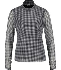 gerry weber shirt zwart 470277-35077