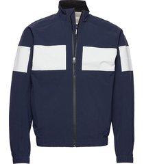 m-course crew jacket 2.5l tunn jacka blå henri lloyd