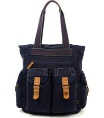 tsd brand atona utility canvas tote bag
