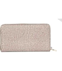 wallet zip around borbonese