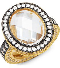 radiance pavé cocktail ring