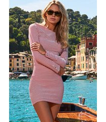 melissa odabash agata dress nautical red