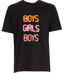 neil barrett t-shirt over w/written