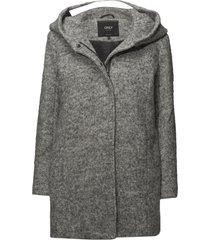 onlsedona boucle wool coat otw noos wollen jas lange jas grijs only
