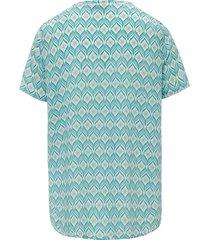 shirt met korte mouwen van peter hahn multicolour