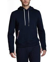 men's fourlaps rush zip hoodie, size xx-large - blue