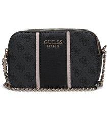 cathleen camera bag bags small shoulder bags - crossbody bags svart guess