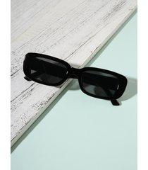 gafas de sol retro de leopardo con montura cuadrada