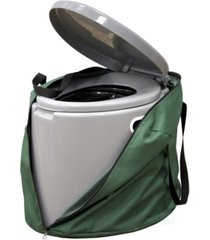 portable travel toilet for camping and hiking with travel bag
