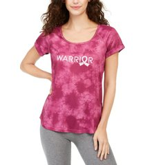 ideology tie-dye warrior t-shirt, created for macy's