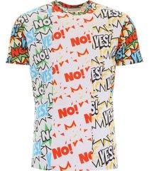 comme des garçons shirt fancy comics t-shirt