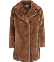 parosh concealed mid-length coat