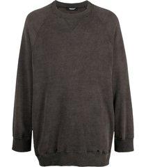 undercover oversized distressed sweatshirt - grey