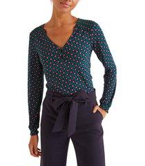 women's boden flora jersey top