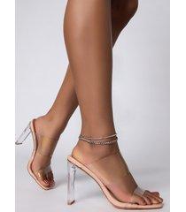 akira chain bling anklet