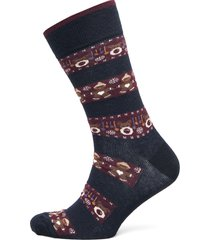 sock christmas time underwear socks regular socks multi/mönstrad topeco