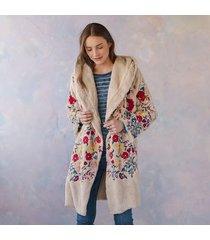 biya snowfall & blossom coat