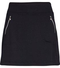 madge skort 45 cm kort kjol blå daily sports