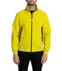 yellow outerwear jacket-52