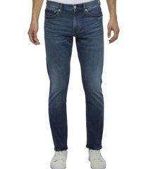 jeans slim azul calvin klein