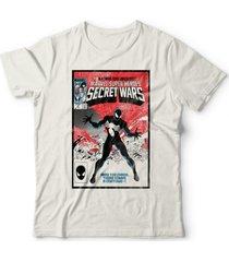 camiseta guerras secretas off white - kanui