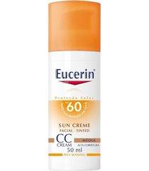 eucerin cc cream tinted medio fps60 50ml