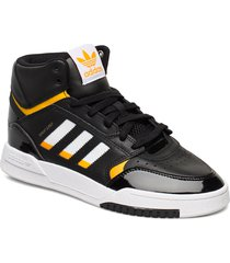 drop step w höga sneakers svart adidas originals