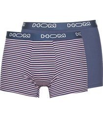 boxers hom marins long boxer brief pack x2