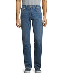 classic straight-fit jeans