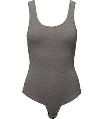 uftk-body tank t-shirts & tops bodies grå diesel women