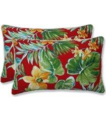 pillow perfect beachcrest poppy rectangular throw pillow, set of 2
