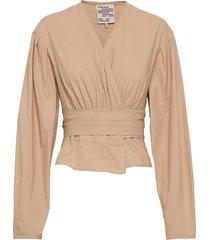 mianne blouse lange mouwen beige baum und pferdgarten