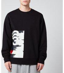 y-3 men's ch1 gfx sweatshirt - black - xl