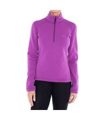 blusa segunda pele térmica x-power® feminina solo lilás