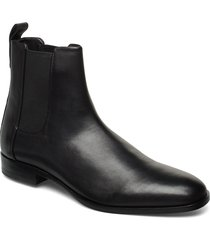 cult_cheb_ltpl shoes chelsea boots svart hugo