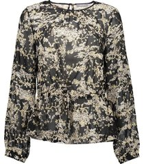 03880-99 blouse aop with string