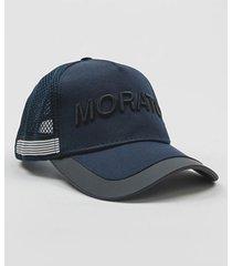 gorra azul antony morato mmha00262-fa600012-7073