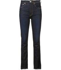 double needle jeans
