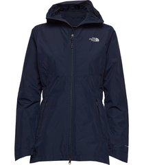 w hikesteller parka shell jacket - eu outerwear sport jackets blå the north face