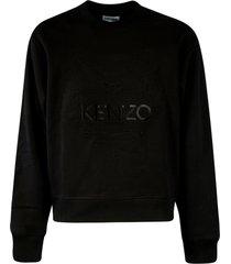 kenzo embossed tiger crewneck sweatshirt
