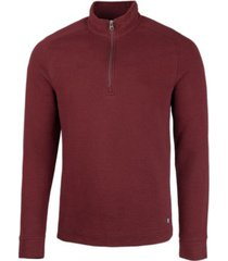cutter & buck men's big and tall coastal half zip sweatshirt