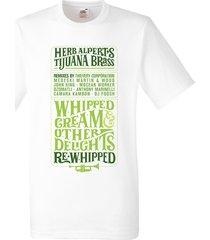 herb alpert a taste of honey whipped cream t shirt