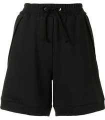 3.1 phillip lim relaxed track shorts - black
